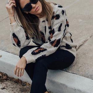 Leopard Sweater - worn 1x